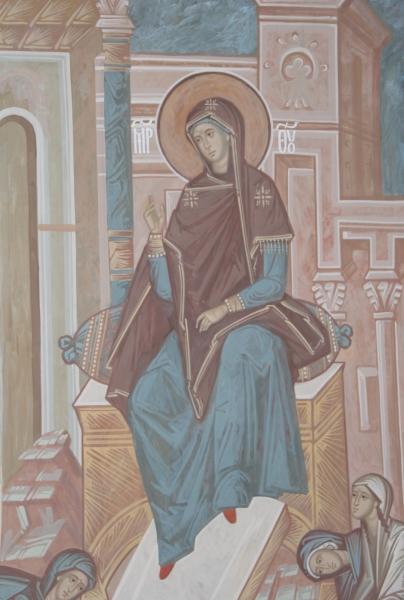 Фрагмент акафиста (икос 10)